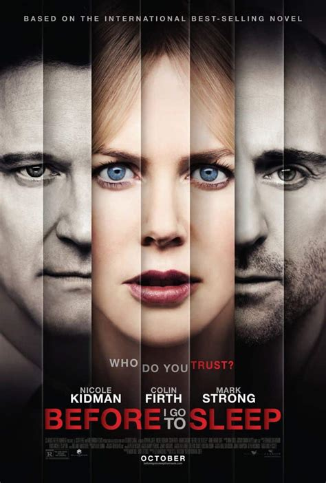 BEFORE I GO TO SLEEP Movie Poster   SEAT42F