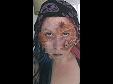 SFX Pirates of the Caribbean Inspired Makeup - YouTube