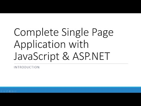 Part 1: File-> New Project | The ASP