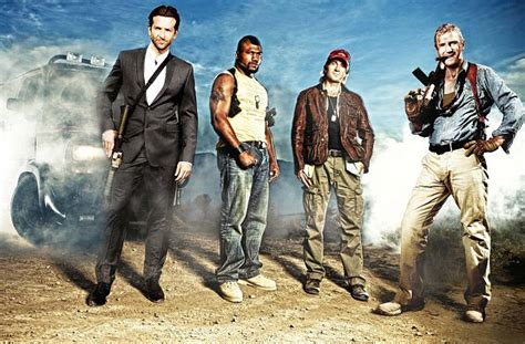 The A-Team's plan comes together as new look tough guys