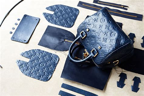 Behind the Scenes in the Making of a Louis Vuitton Speedy