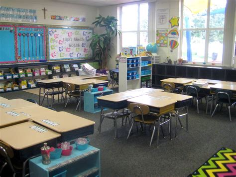 Let's Get Fancy in First: Classroom Tour