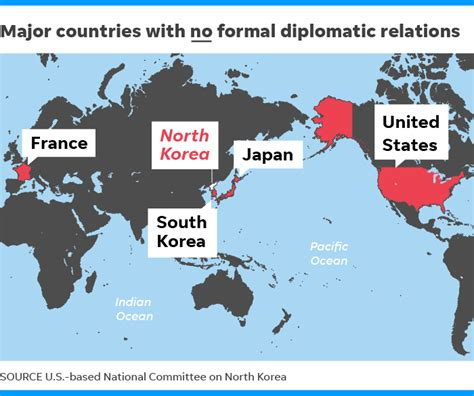 North Korea: These countries have diplomatic ties to Kim