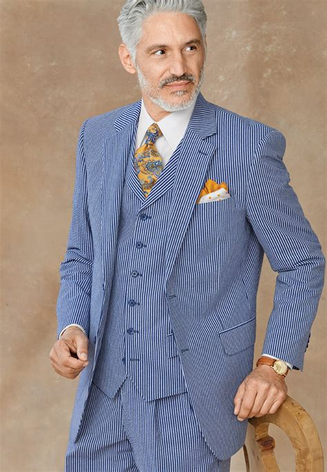 All About Seersucker Fabric & Suits | Paul Fredrick