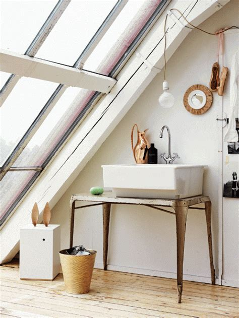 Romantic White Loft With Huge Windows In Sweden - DigsDigs