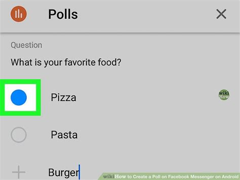 How to Create a Poll on Facebook Messenger on Android: 8 Steps