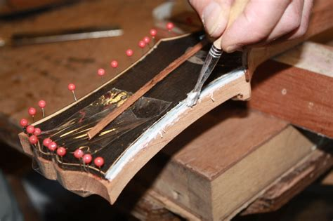 Build your own custom guitar- day 4