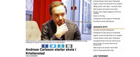 Andreas Carlsson   Academy of Retail and Business - Vilken