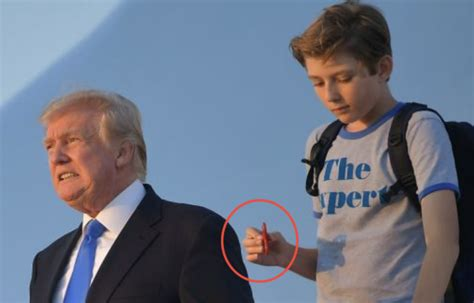 The Internet is LOSING IT Over What Barron Trump Took