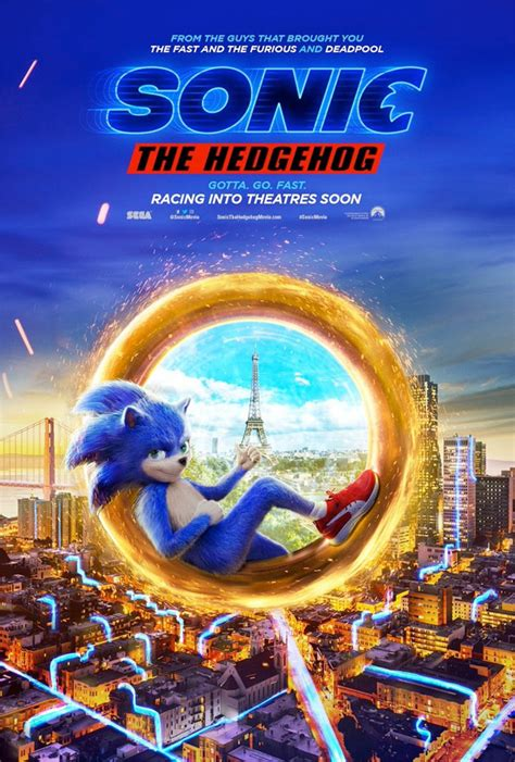 Crazy First Trailer for 'Sonic the Hedgehog' Live-Action