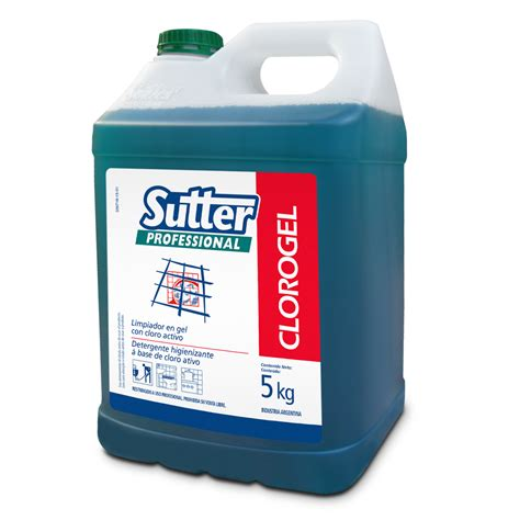 CLOROGEL | Productos | Sutter Professional