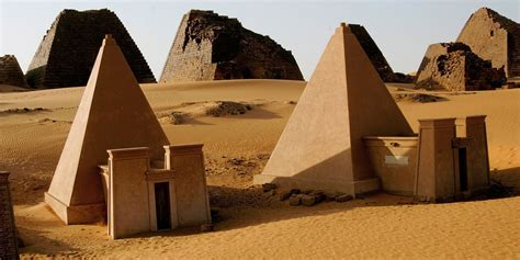 Sudan's Meroe Pyramids Are Just As Spectacular As The Ones