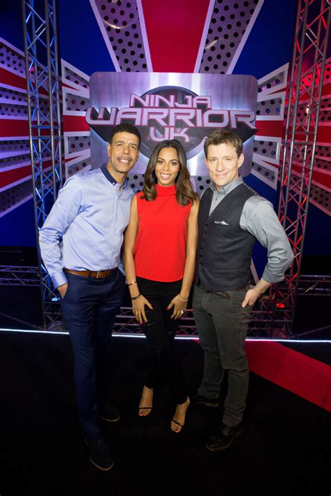 Rochelle takes the reins for ITV's Ninja Warrior - What's
