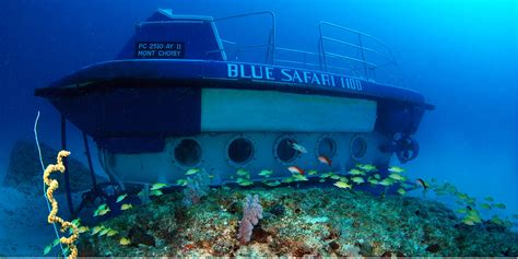 An Underwater Experience in a Submarine - Mauritius