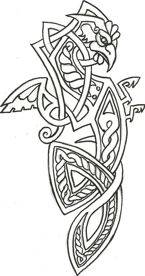 Cockatrice Heraldry by 2forjoy | Norse tattoo